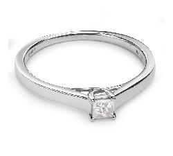 """Помолвочное кольцо с Aлмазом """"Принцесса 38"""""""