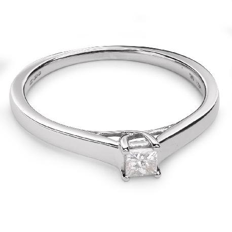 """Saderināšanās gredzens ar Dimantu """"Princese 38"""""""