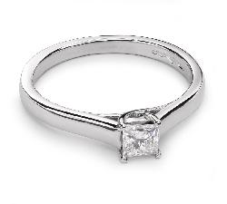 """Saderināšanās gredzens ar Dimantu """"Princese 40"""""""