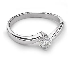 """Помолвочное кольцо с Бриллиантом """"В объятиях любви 23"""""""