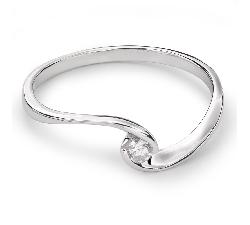 """Золотое кольцо с  Бриллиантом """"В объятиях любви 24"""""""