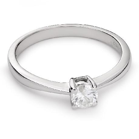 """Помолвочное кольцо с Бриллиантом """"Прочность 78"""""""