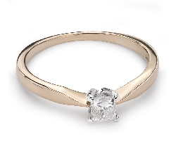 """Saderināšanās gredzens ar Dimantu """"Princese 41"""""""
