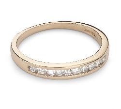 "Zelta gredzens ar Briljantiem ""Dimanta jostīte 30"""
