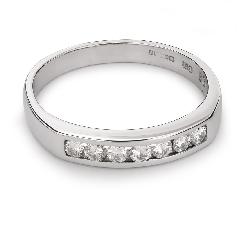 "Zelta gredzens ar Briljantiem ""Dimanta jostīte 31"""