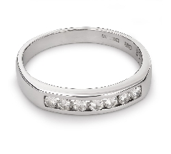 """Золотое кольцо с Бриллиантами """"Алмазная полоска 31"""""""