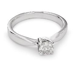 """Помолвочное кольцо с Бриллиантом """"Элегантность 18"""""""