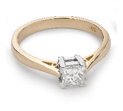 """Помолвочное кольцо с Aлмазом """"Принцесса 42"""""""