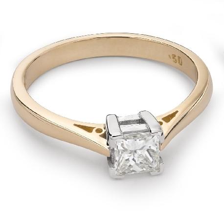 """Saderināšanās gredzens ar Dimantu """"Princese 42"""""""