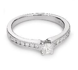 """Золотое кольцо с Бриллиантами """"Грациозность 80"""""""