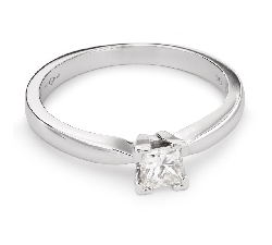 """Помолвочное кольцо с Aлмазом """"Принцесса 43"""""""