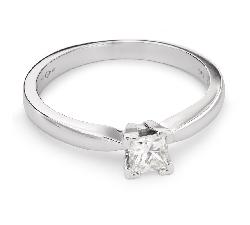 """Saderināšanās gredzens ar Dimantu """"Princese 43"""""""