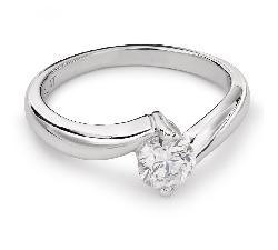 """Zelta gredzens ar Briljantu """"Mīlestības apskāvienos 25"""""""