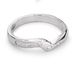 "Zelta gredzens ar Briljantiem ""Dimanta jostīte 32"""