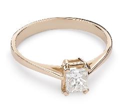 """Saderināšanās gredzens ar Briljantu """"Princese 44"""""""