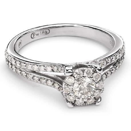 """Помолвочное кольцо с Бриллиантами """"Бриллиантовый букет 31"""""""