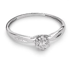 """Zelta gredzens ar Briljantu """"Mīļais 53"""""""
