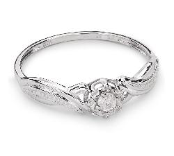 """Zelta gredzens ar Briljantu """"Mīļais 54"""""""
