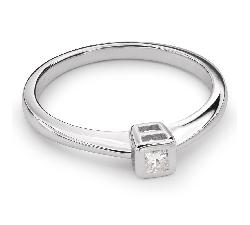 """Zelta gredzens ar Briljantu """"Apskautā 24"""""""