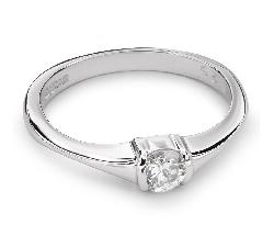 """Золотое кольцо с Бриллиантом """"Прочность 82"""""""