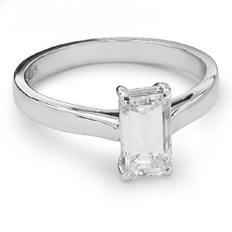 """Помолвочное кольцо с Aлмазом """"Незабываемый 13"""""""