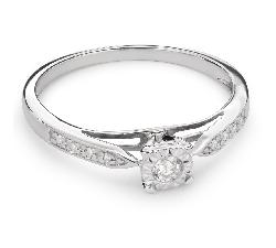 """Золотое кольцо с Бриллиантами """"Возлюбленный 58"""""""