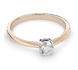 """Золотое кольцо с  Бриллиантом """"Прочность 83"""""""