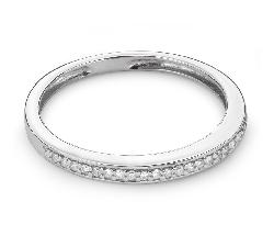 """Золотое кольцо с Бриллиантами """"Алмазная полоска 36"""""""