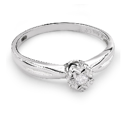 """Помолвочное кольцо с бриллиантом """"Возлюбленный 67"""""""