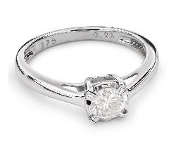 """Saderināšanās gredzens ar briljantu """"Mīļais 68"""""""