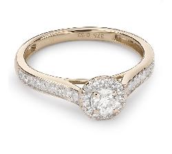 """Помолвочное кольцо с Бриллиантами """"Бриллиантовый букет 33"""""""