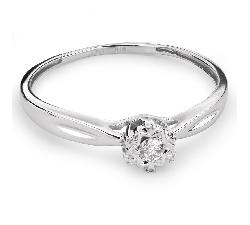 """Saderināšanās gredzens ar briljantu """"Mīļais 69"""""""