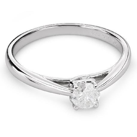 """Saderināšanās gredzens ar briljantu """"Dieviete 79"""""""