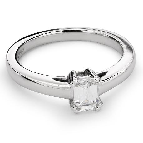 """Помолвочное кольцо с Aлмазом """"Прочность 85"""""""