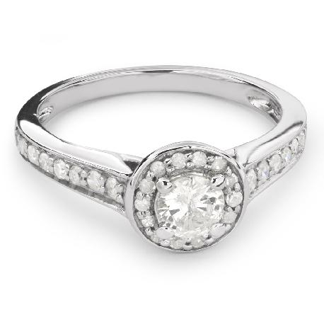 """Помолвочное кольцо с Бриллиантами """"Бриллиантовый букет 34"""""""
