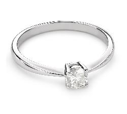 """Помолвочное кольцо с Бриллиантом """"Прочность 86"""""""