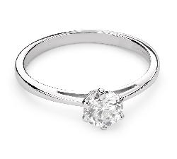 """Помолвочное кольцо с Бриллиантом """"Чистая 28"""""""