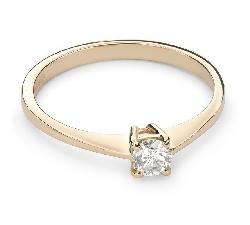 """Помолвочное кольцо с Бриллиантом """"Прочность 87"""""""