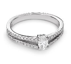 """Помолвочное кольцо с Aлмазами """"Грациозность 90"""""""
