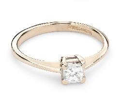 """Помолвочное кольцо с Aлмазом """"Принцесса 54"""""""