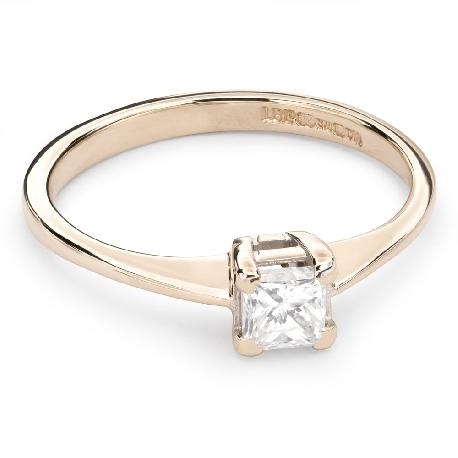 """Saderināšanās gredzens ar Dimantu """"Princese 54"""""""
