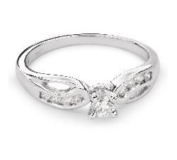 """Помолвочное кольцо с Бриллиантами """"Грациозность 94"""""""
