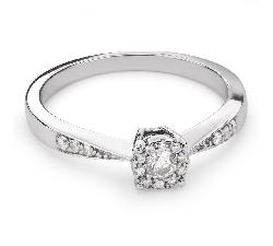 """Zelta gredzens ar Briljantiem """"Mīļais 79"""""""