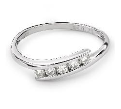 "Золотое кольцо с Бриллиантами ""Среди скал 15"""