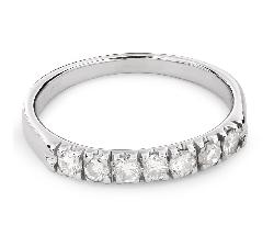 """Zelta gredzens ar Dimantiem """"Dimanta jostīte 44"""""""