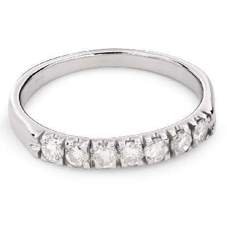"""Золотое кольцо с Aлмазами """"Алмазная полоска 44"""""""