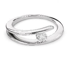 """Zelta gredzens ar Briljantu """"Sapītie likteņi 30"""""""