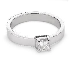 """Saderināšanās gredzens ar Dimantu """"Princese 52"""""""
