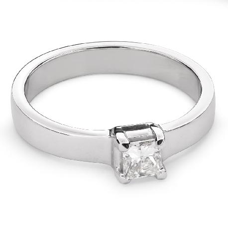 """Помолвочное кольцо с Aлмазом """"Принцесса 52"""""""