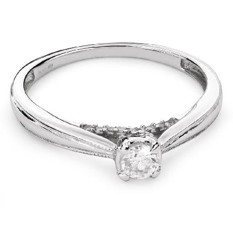 """Помолвочное кольцо с Бриллиантом """"Возлюбленный 84"""""""